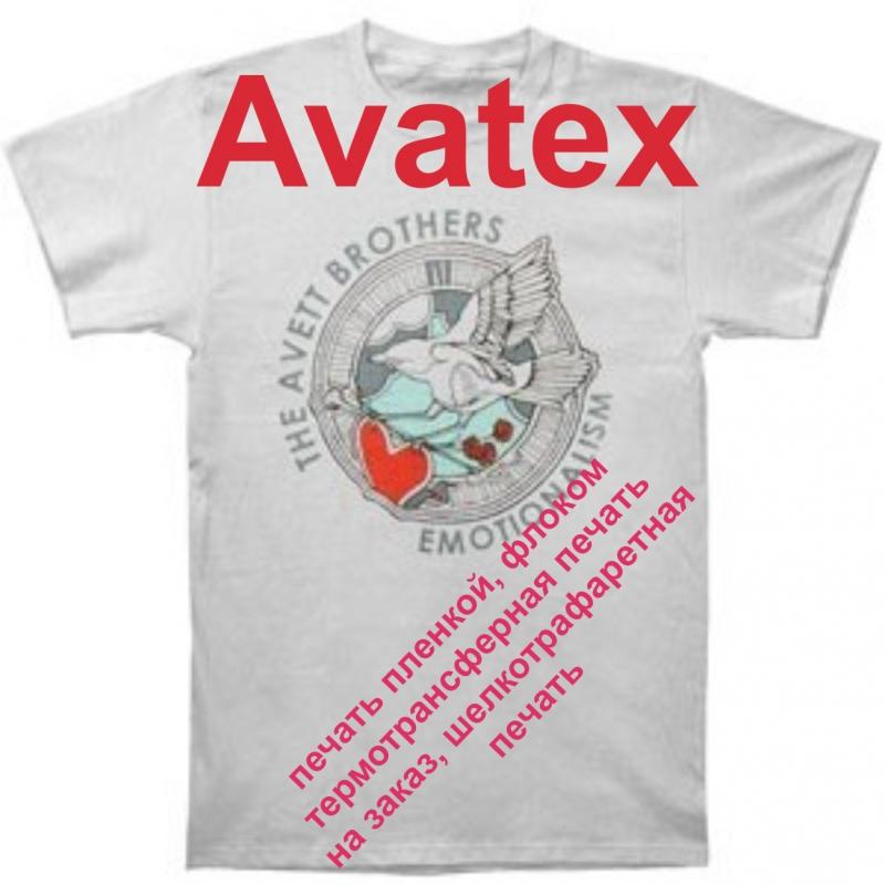 печать на футболках пленкой