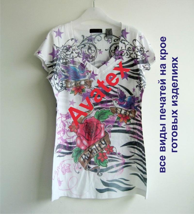 термотрансферная печать на футболках